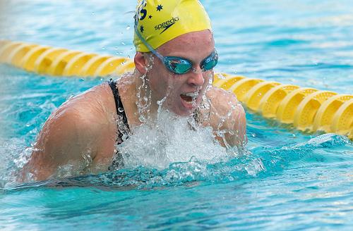 improve swimming the breast stroke